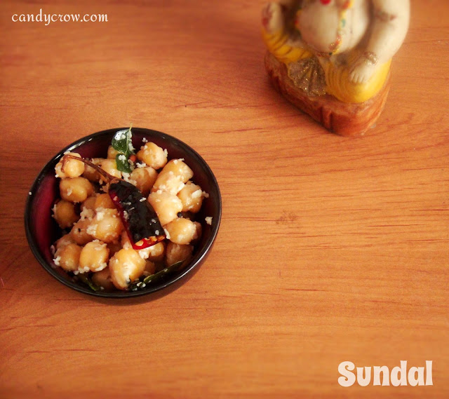 Sundal recipe for pongal