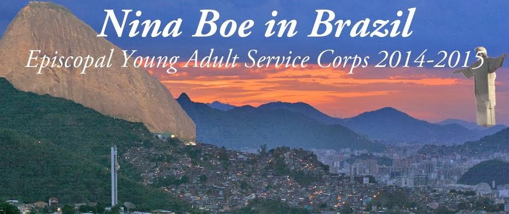 Nina Boe in Brazil