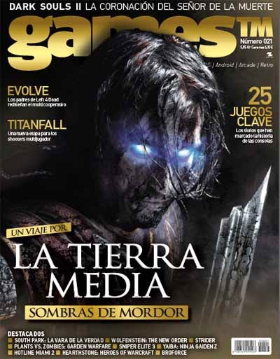 Revista Games TM Abril 2014 – La Tierra Media PDF Digital