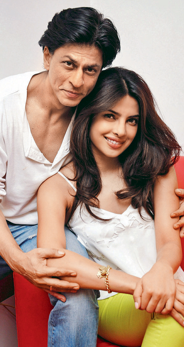 1 - SRK Priyanka Pic together