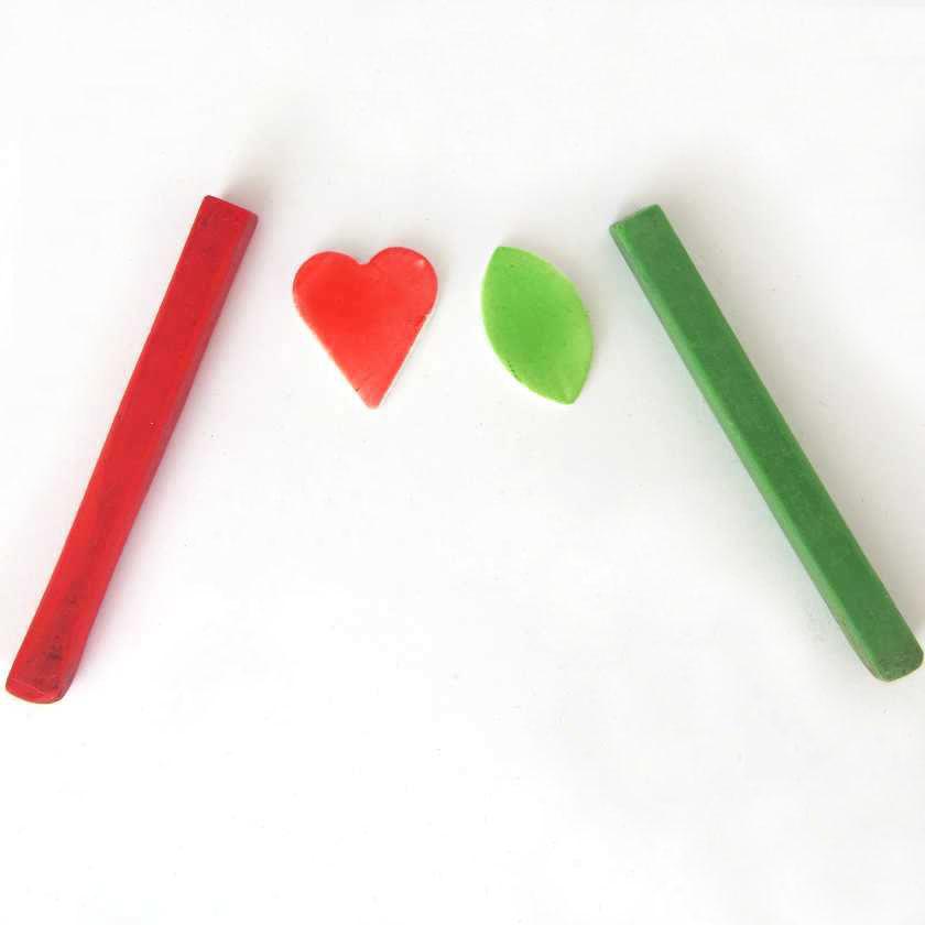Colorazione pasta sintetica gessetti d'artista