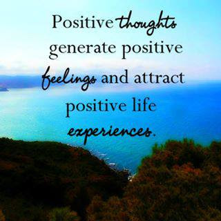 quote of the day positive thoughts attract a positive life