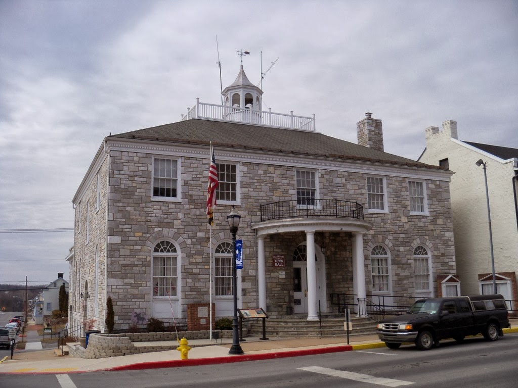 New Deal Wpa Building In Maryland