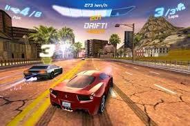 Một vòng đua game fast racing