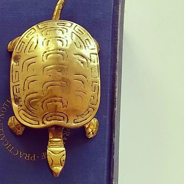 #thriftscorethursday Week 58 | Instagram user: newfoundnorthwest shows off this Brass Turtle Trinket Box