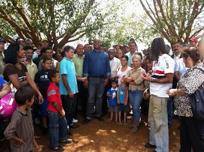 Trabalhadores rurais de São Sebastião (DF) exigem imediato assentamento