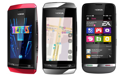 Nokia Asha 311 (garansi Nokia)