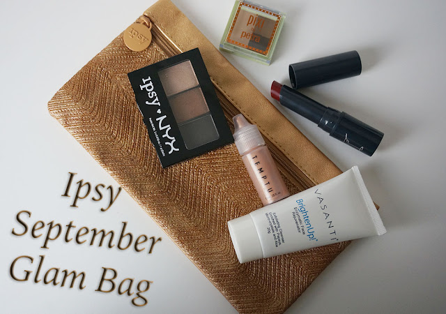 Ipsy September Glam Bag banner