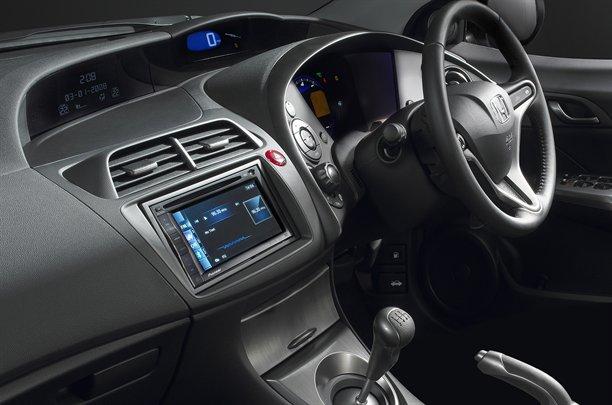 2012 Honda Civic Ti Sporty Interior