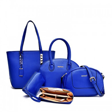 MULTI FUNCTION BAG (5 IN 1 SET) - BLUE