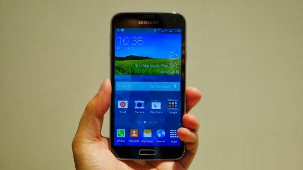 Samsung Galaxy S5 Released