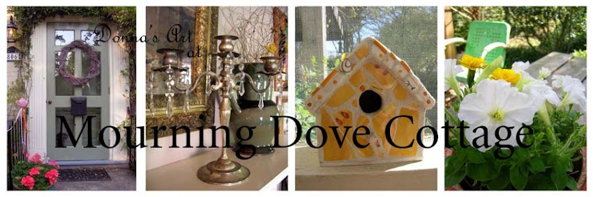 Donna&#39;s Art at Mourning Dove Cottage