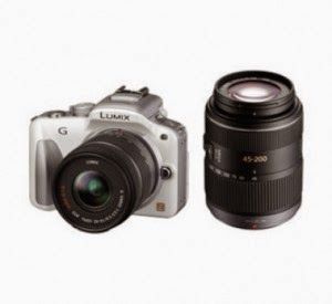 Snapdeal: Buy Panasonic Lumix DMC-G3W 16MP Mirrorless Camera with Dual Lens Kit (14-42mm & 45-200mm) at Rs.30155