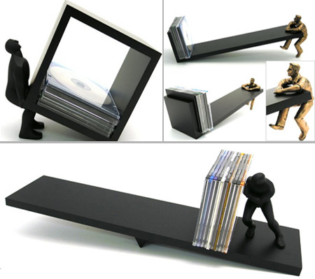Artistic Human CD Holders