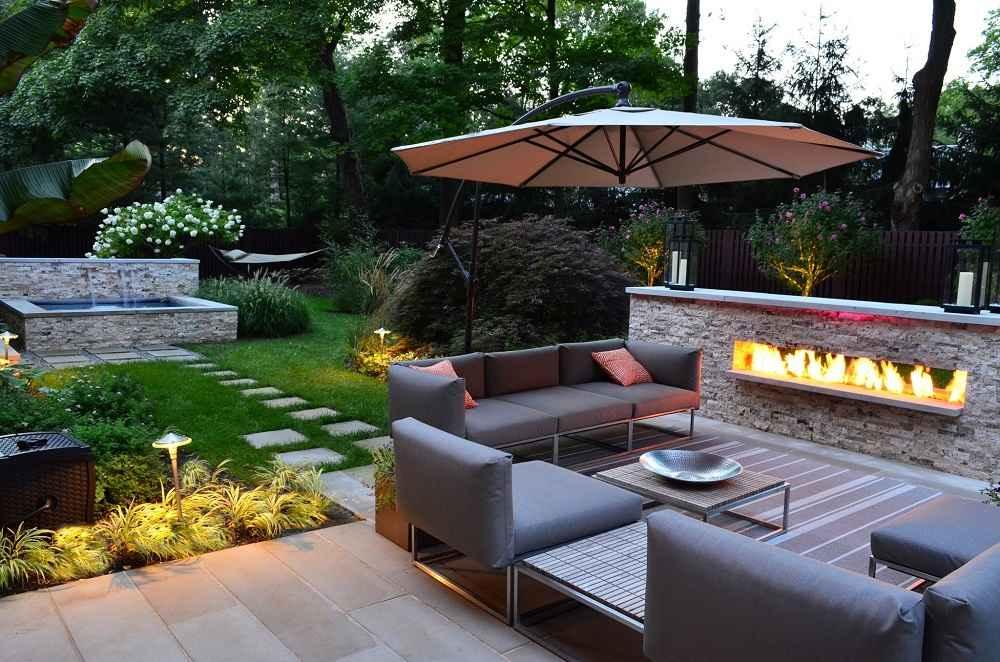 Backyard Desert Landscaping Ideas Modern Houses Home and Garden