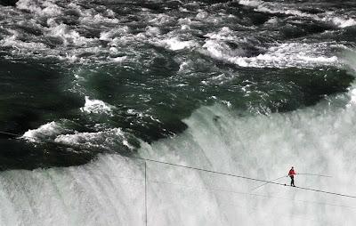 equilibrio en la cuerda floja
