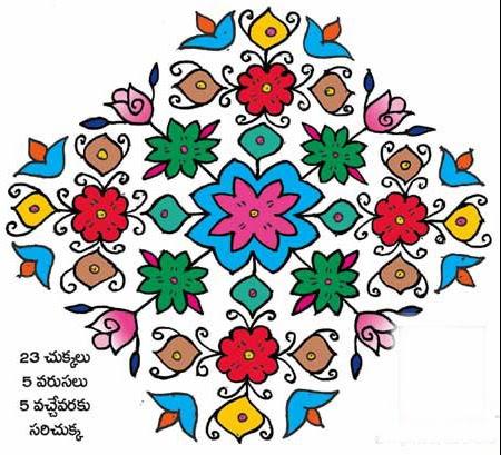 Sankranthi rangoli designs1