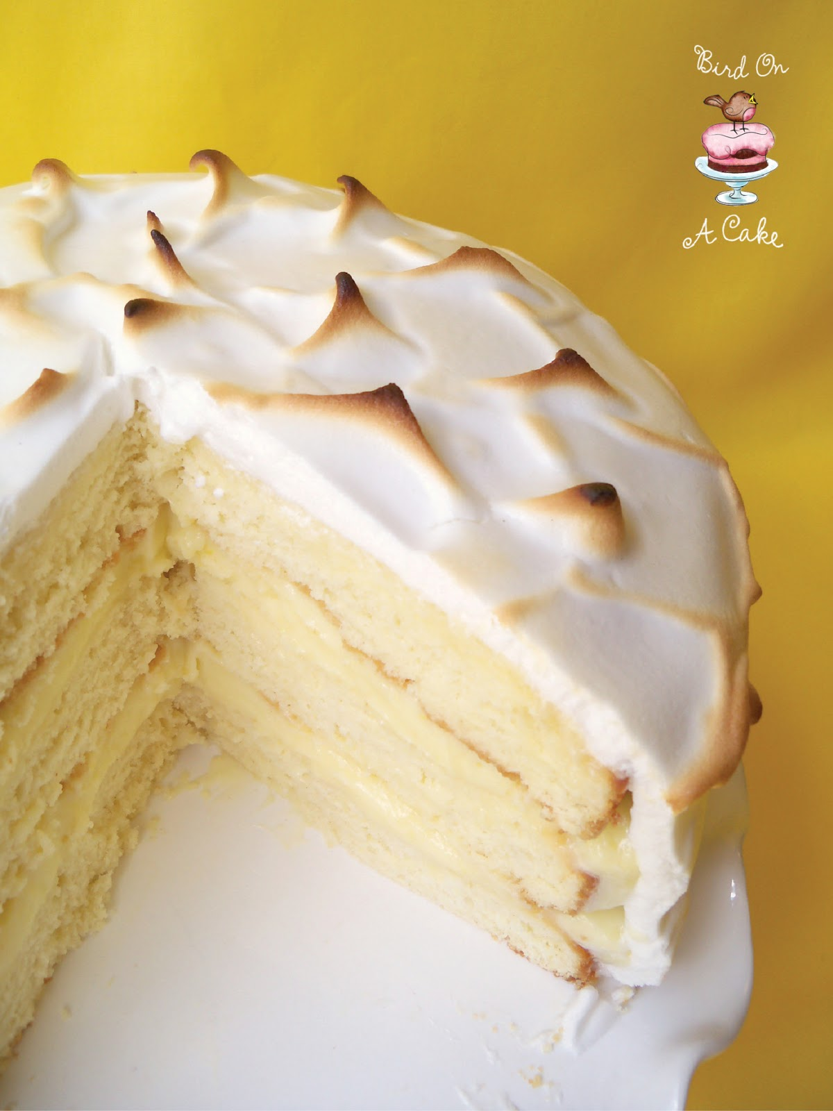 Bird On A Cake: Lemon Meringue Cake