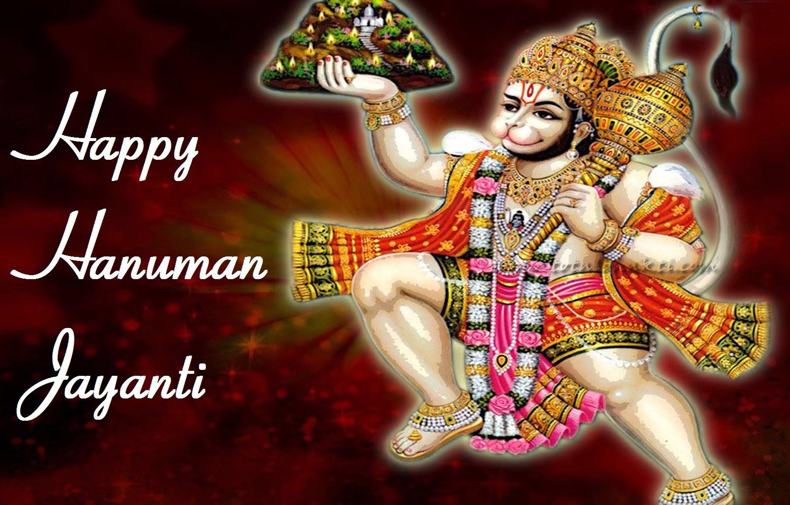 Hanuman Jayanti Wishes Messages Cards for Friends ...
