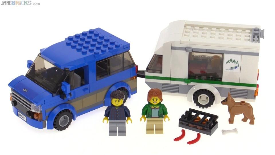 Lego City 2016 Van Amp Caravan Build Amp Review Set 60117