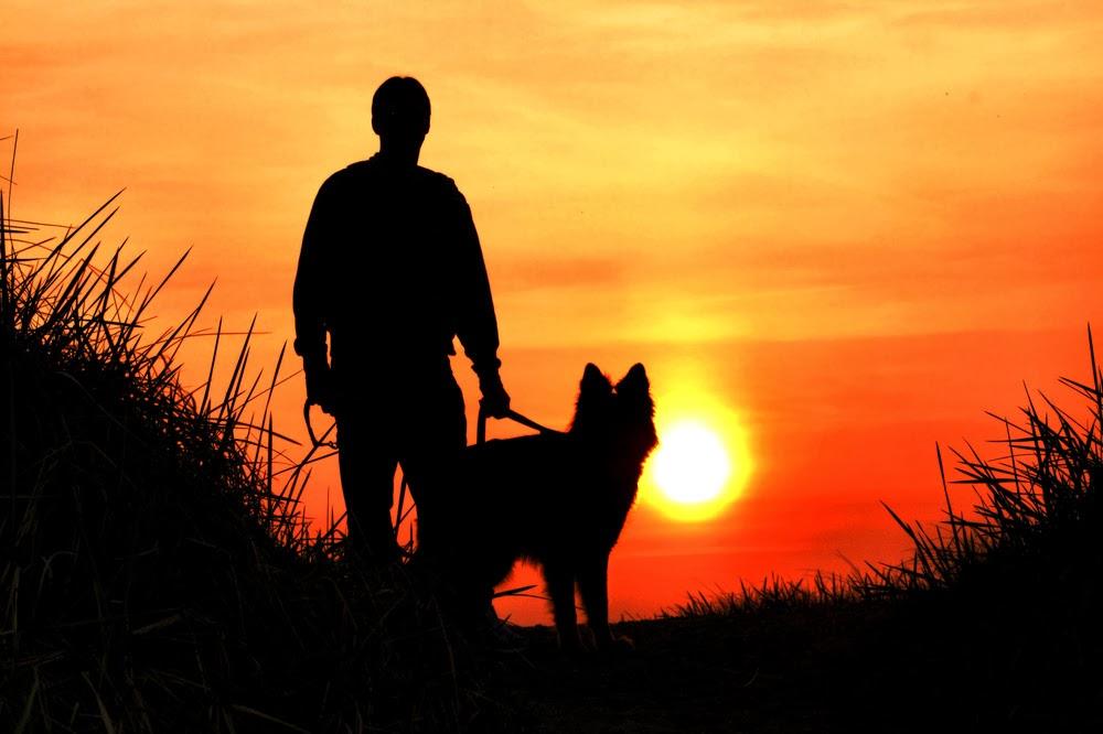 Mann mit hund kennenlernen