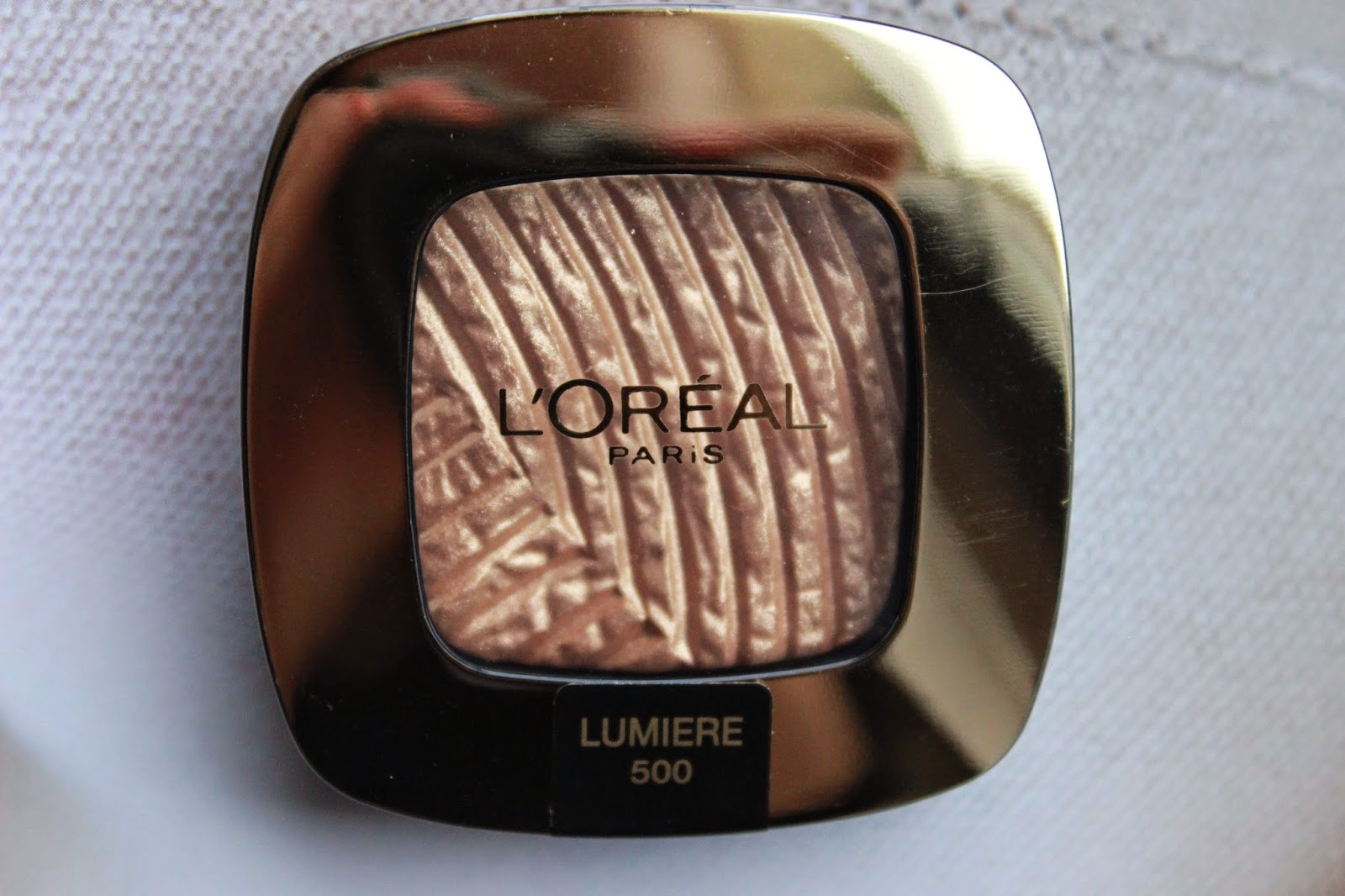 review ervaring l'oréal color riche l'ombre pur gold mania