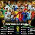 Inilah Daftar Skuad Lengkap 32 Negara Peserta Piala Dunia 2014