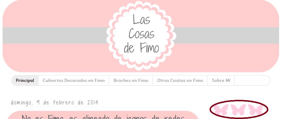 Alineado de iconos en blogger