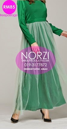 NBH0245 FATINI JUBAH DRESS