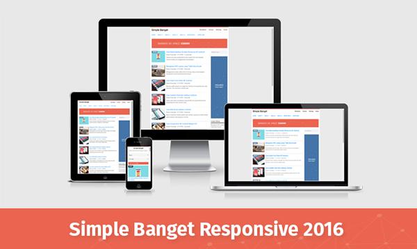 simple banget 2016 responsive blogger templates kaizentemplate
