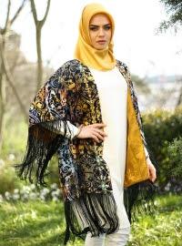 Baju Kaftan muslimah model terbaru ala turki