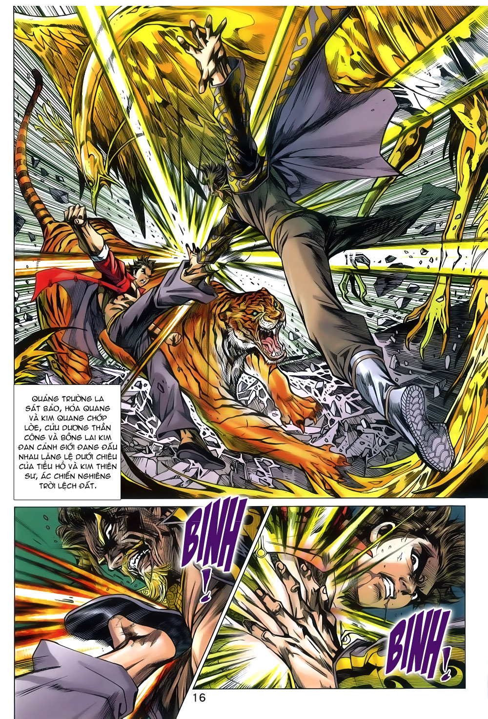 Tân Tác Long Hổ Môn chap 791 Trang 16 - Mangak.info