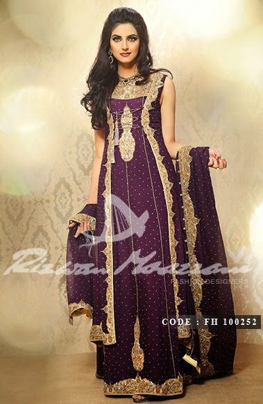 Rizwan Moazzam Bridal Collection 2014 For Ladies Or Girls Photos