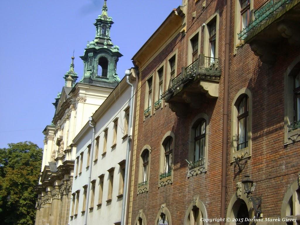 Architektura Krakowa urzeka... fot Dariusz Marek Gierej