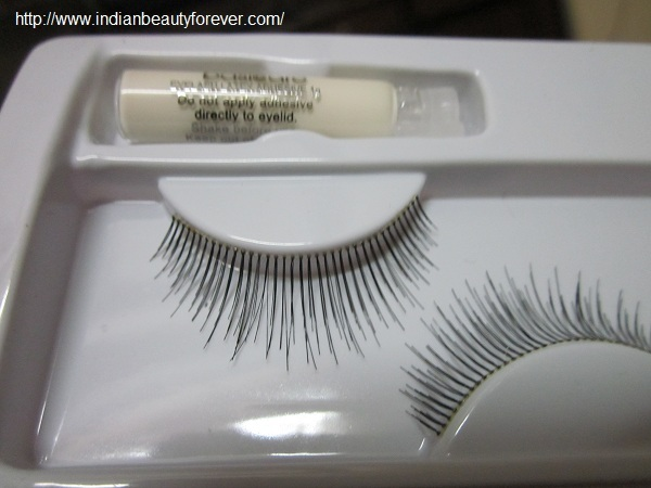 Basic care False Eye Lashes review and EOTD