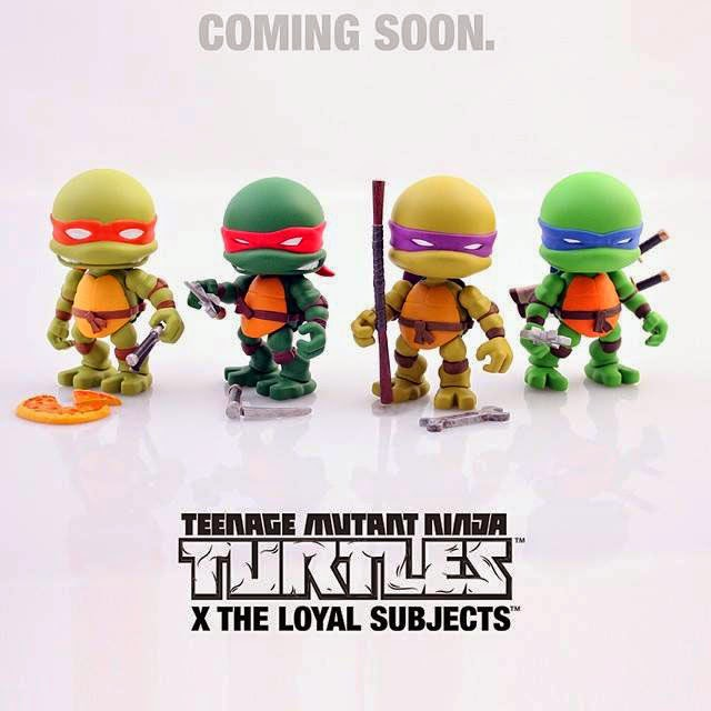 Teenage Mutant Ninja Turtles by The Loyal Subjects TMNT-THE-LOYL-SUBJECTS-01