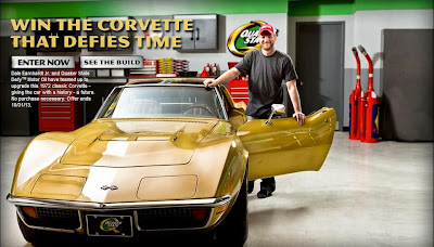 Win the Corvette that defies time