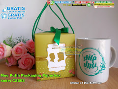 Mug Putih Packaging Paperbox