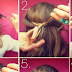 Knotty Half-Up Hairstyle Tutorial For School Girls
