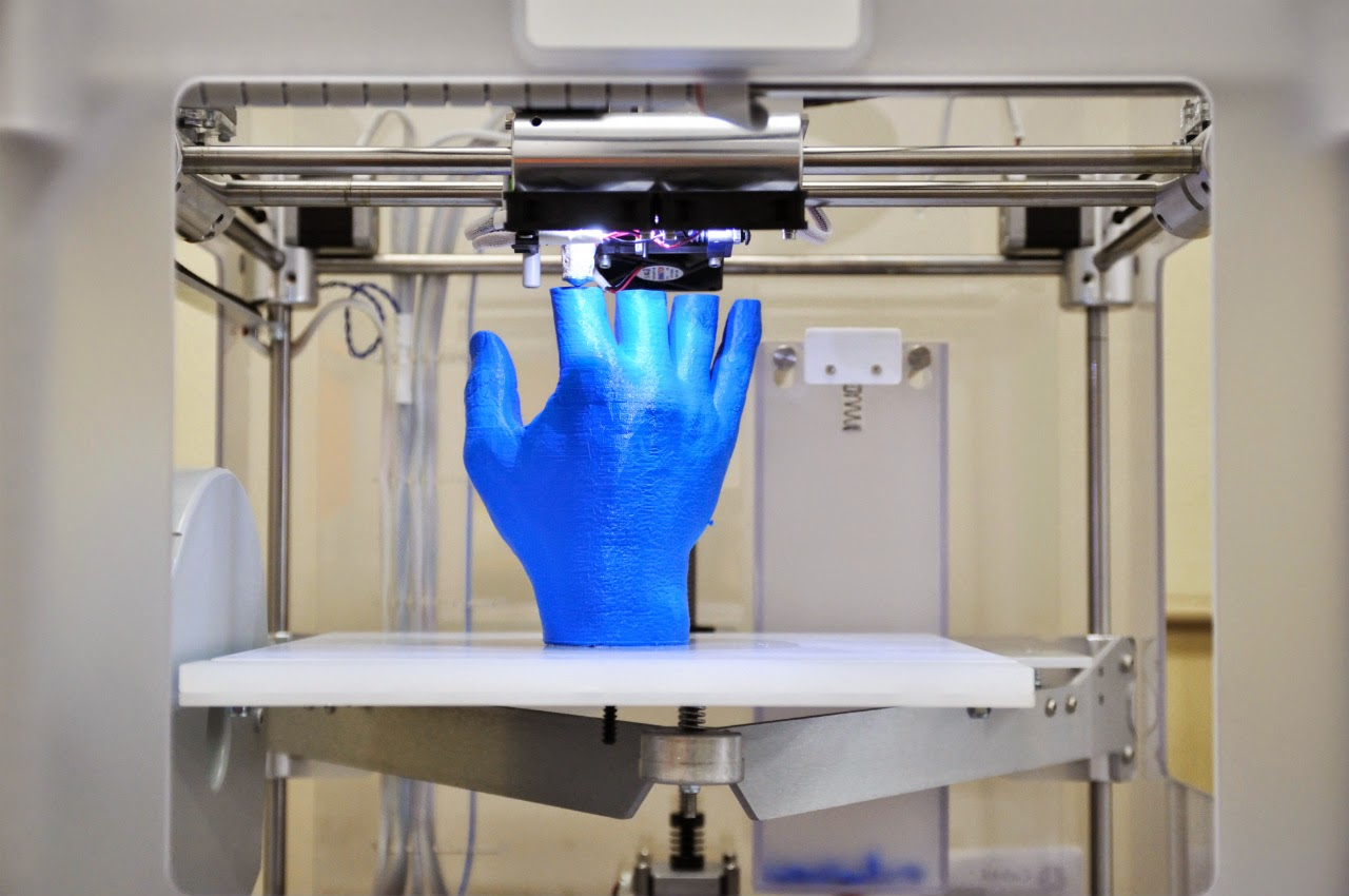 The new kid on the block is the 3D printer