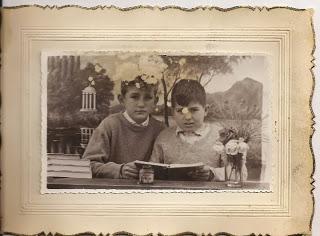 MIGUEL Y MANOLIN MARTINEZ VELASCO AÑO 1951