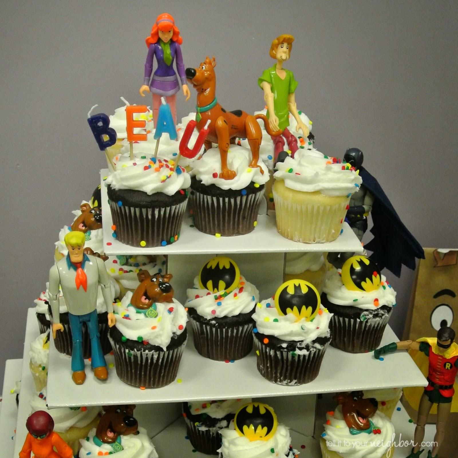 Scooby Doo Meets Batman Party