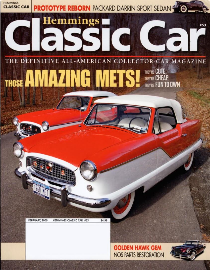 Car Insurance: Classic Car Magazines