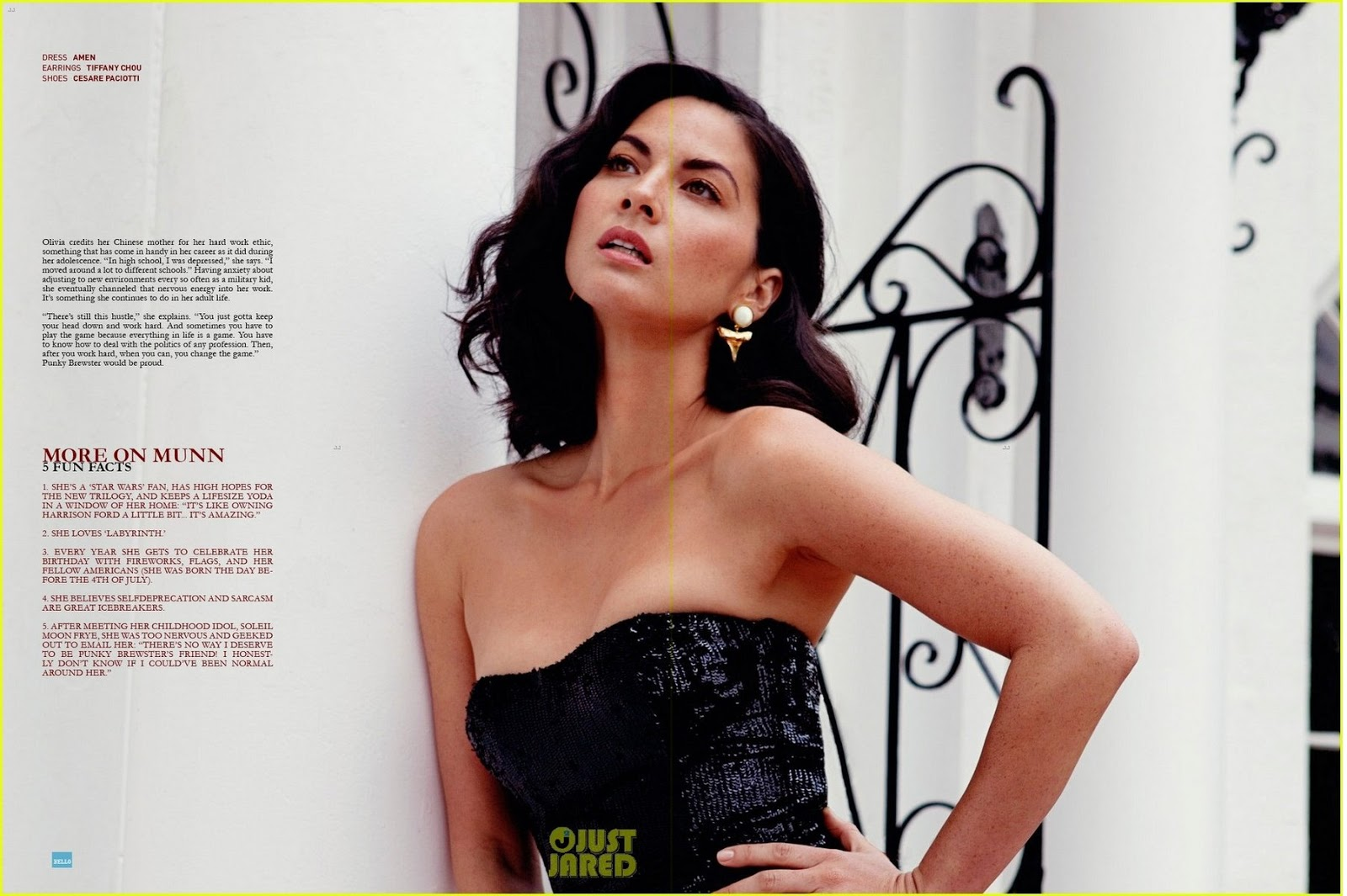 Olivia Munn   Bello Magazine June 2013 Browse More For Latest