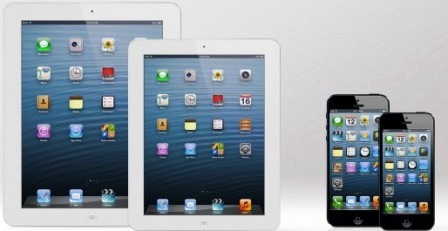Apple Compare Larger Screen iPad And iPhone 4