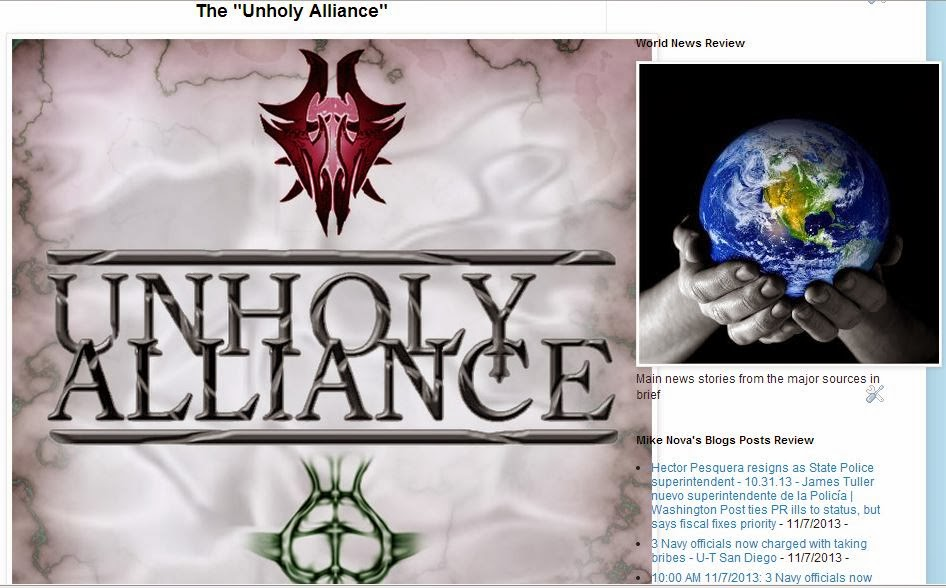 "The ""Unholy Alliance"""
