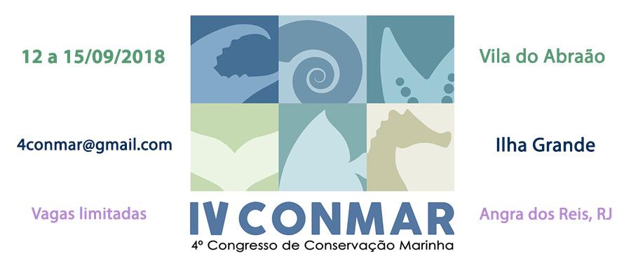 IV ConMar - 4º Congresso de Conservação Marinha