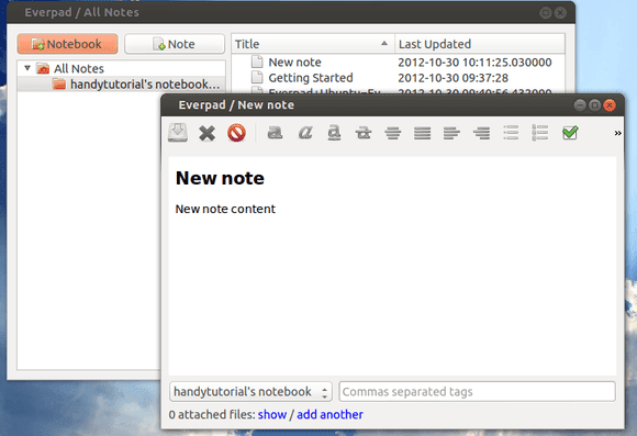 Instalar Everpad en Ubuntu 14.04 LTS, evernote ubuntu 14.04