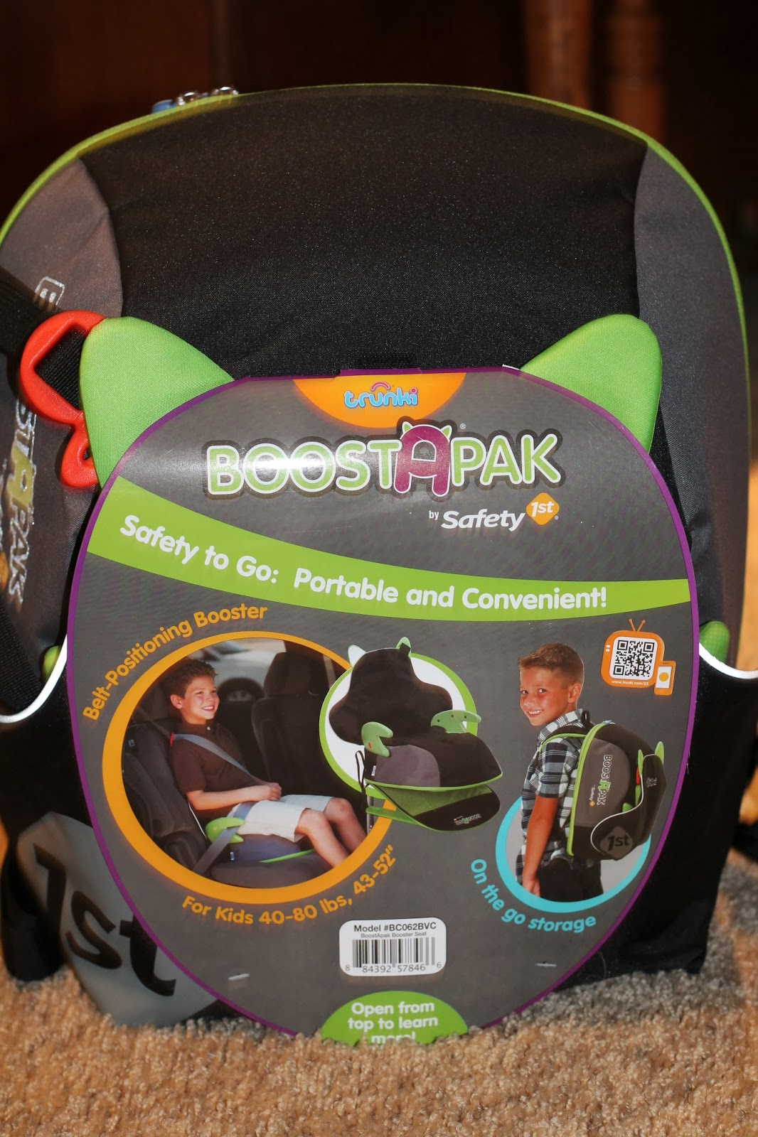 safety 1st boostapak belt positioning booster car seat review giveaway. Black Bedroom Furniture Sets. Home Design Ideas