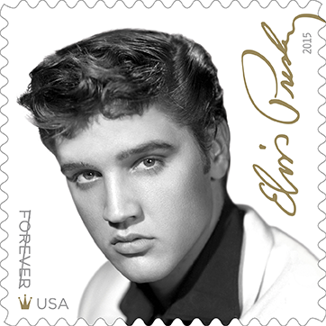 Elvis presley on the upcoming u s postal service stamp vvn music